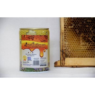 Kalymnian thyme honey 450 gr can