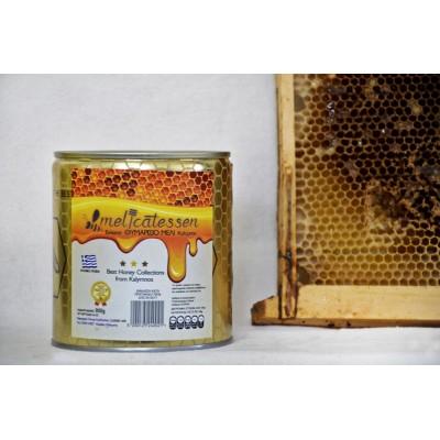 Θυμαρίσιο μέλι Καλύμνου 900 γρ τενεκές