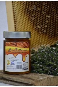 Θυμαρίσιο μέλι Καλύμνου γυάλινο βάζο πολυτελείας Ergo 450γρ