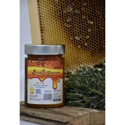 Kalymnian thyme honey luxury glass Plus 250gr