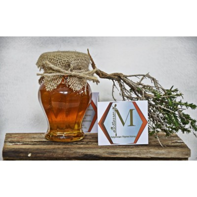 Kalymnian thyme honey glass Amphora 150gr