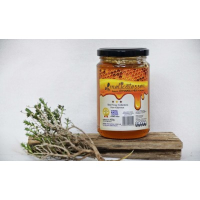 Kalymnian thyme honey 450 gr glass